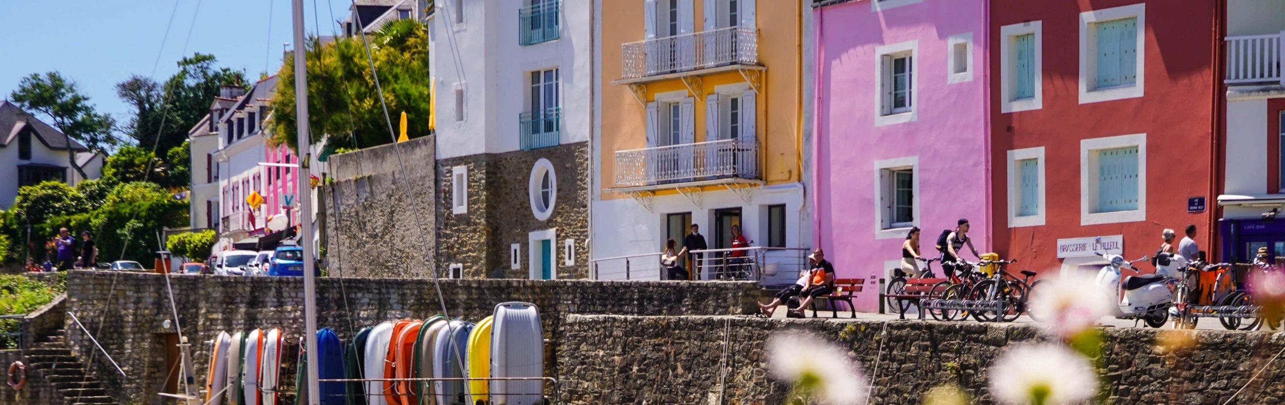 Sauzon  credit photo Océane Le Gall